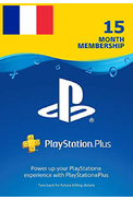 PSN - PlayStation Plus - 15 mois Abonnement (France)