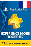PSN - PlayStation Plus - 365 jours Abonnement (France)