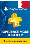 PSN - PlayStation Plus - 30 days (Bahrain) Subscription