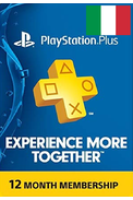 PSN - PlayStation Plus - 365 days (Italy) Subscription