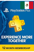 PSN - PlayStation Plus - 365 days (Mexico) Subscription