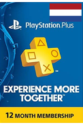PSN - PlayStation Plus - 365 days (Netherlands) Subscription