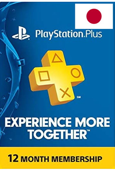 PSN - PlayStation Plus - 12 Months (Japan) Subscription