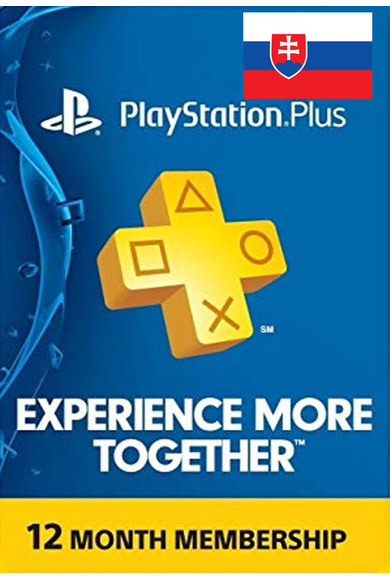 PSN - PlayStation Plus - 12 Months (Slovakia) Subscription