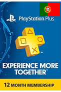 PSN - PlayStation Plus - 365 dias Subscrição (Portugal)