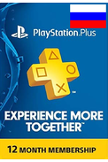 PSN - PlayStation Plus - 365 days (Russia - RU/CIS) Subscription