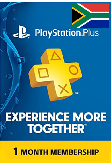 PSN - PlayStation Plus - 1 Month (South Africa) Subscription