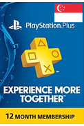 PSN - PlayStation Plus - 365 days (Singapore) Subscription