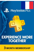 PSN - PlayStation Plus - 90 jours Abonnement (France)