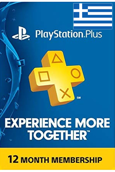 PSN - PlayStation Plus - 12 months (Greece) Subscription