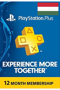 PSN - PlayStation Plus - 12 months (Hungary) Subscription