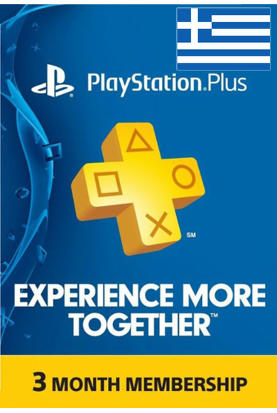 PSN - PlayStation Plus - 3 months (Greece) Subscription