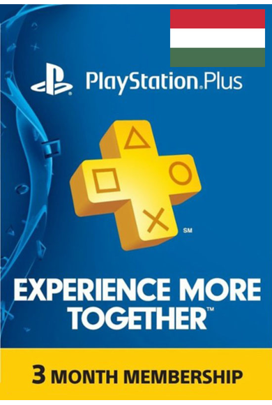 PSN - PlayStation Plus - 3 months (Hungary) Subscription