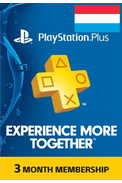 PSN - PlayStation Plus - 3 months (Luxembourg) Subscription