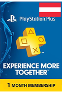 PSN - PlayStation Plus - 30 days (Austria) Subscription