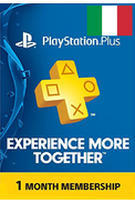 PSN - PlayStation Plus - 30 days (Italy) Subscription