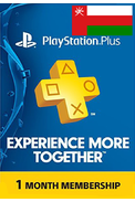 PSN - PlayStation Plus - 30 days (Oman) Subscription