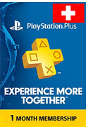 PSN - PlayStation Plus - 30 days (Switzerland) Subscription