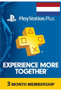 PSN - PlayStation Plus - 90 days (Netherlands) Subscription