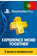PSN - PlayStation Plus - 90 dias Subscrição (Portugal)