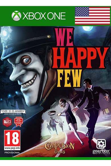 We Happy Few (USA) (Xbox One)