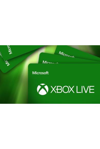 XBOX Live $50 (USD Gift Card) (USA)
