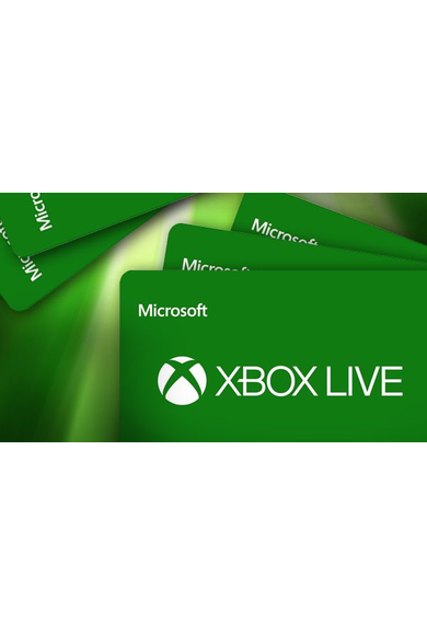 XBOX Live $60 (USD Gift Card) (USA)