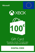 Xbox Live 100€ (Tarjeta Regalo Euro)
