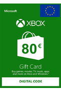 XBOX Live 80€ (Euro Gift Card)