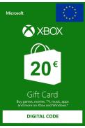 Xbox Live 20€ (Tarjeta Regalo Euro)