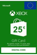 Xbox Live 25€ (Tarjeta Regalo Euro)