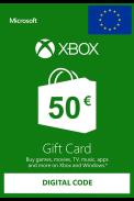XBOX Live 50€ (Euro Gift Card)