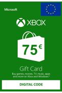 Xbox Live 75€ (Tarjeta Regalo Euro)