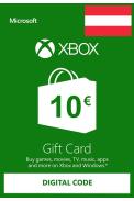 XBOX Live 10€ (EURO Gift Card) (Austria)