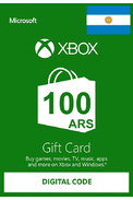 XBOX Live 100 (ARS Gift Card) (Argentina)