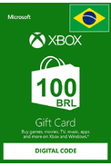 XBOX Live 100 (BRL Gift Card) (Brazil)