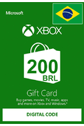 XBOX Live 200 (BRL Gift Card) (Brazil)