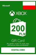 XBOX Live 200 (PLN Gift Card) (Poland)