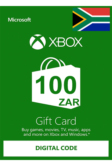 XBOX Live 100 (ZAR Gift Card) (South Africa)