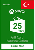 XBOX Live 25 (TRY Gift Card) (Turkey)