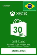 XBOX Live 30 (BRL Gift Card) (Brazil)