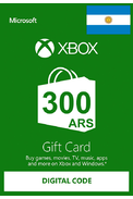 XBOX Live 300 (ARS Gift Card) (Argentina)