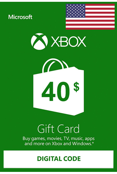 XBOX Live $40 (USD Gift Card) (USA)