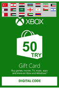 XBOX Live 50 (TRY Gift Card) (Western Asia)