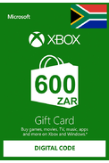 XBOX Live 600 (ZAR Gift Card) (South Africa)