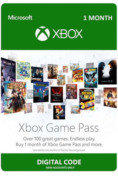 Xbox Game Pass 1 Month (Maand) (Xbox One)