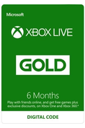 Xbox Live Gold 6 Mois