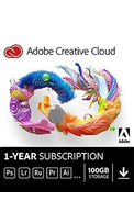 Adobe Creative Cloud 1 Year Subscription