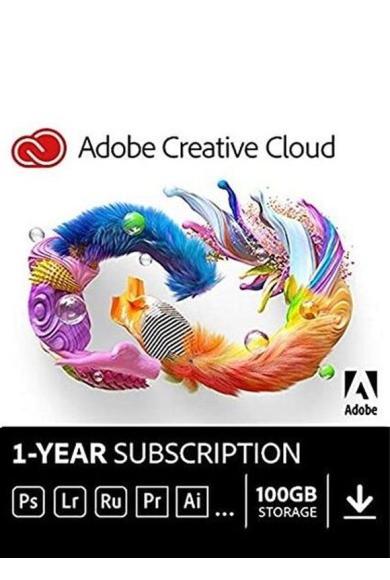 Adobe Creative Cloud 1 Year Subscription