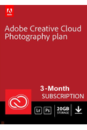 Adobe Creative Cloud Photography 20GB 3 Month